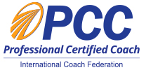 ICF logo for Professional Certified Coach
